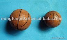 Polyresin basketball decoration