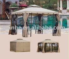 double roof aluminum gazebo