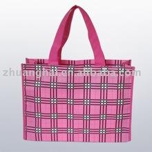 opp laminated non woven fashion shopping bag
