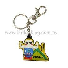 Soft PVC Key Chain / Rubber Key Ring / Soft Plastic Key Holder