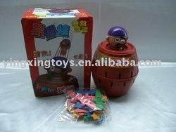 plastic joking toys,shock pirate toys