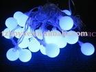 solar garden string light with pentagram/outdoor string light