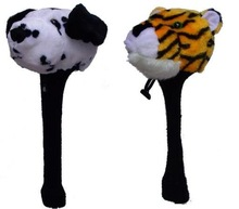 Animal and cartoon shape golf club cover