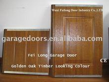 Timber/Wood Looking Automatic Steel Garage Door --- CE & ISO Certificate