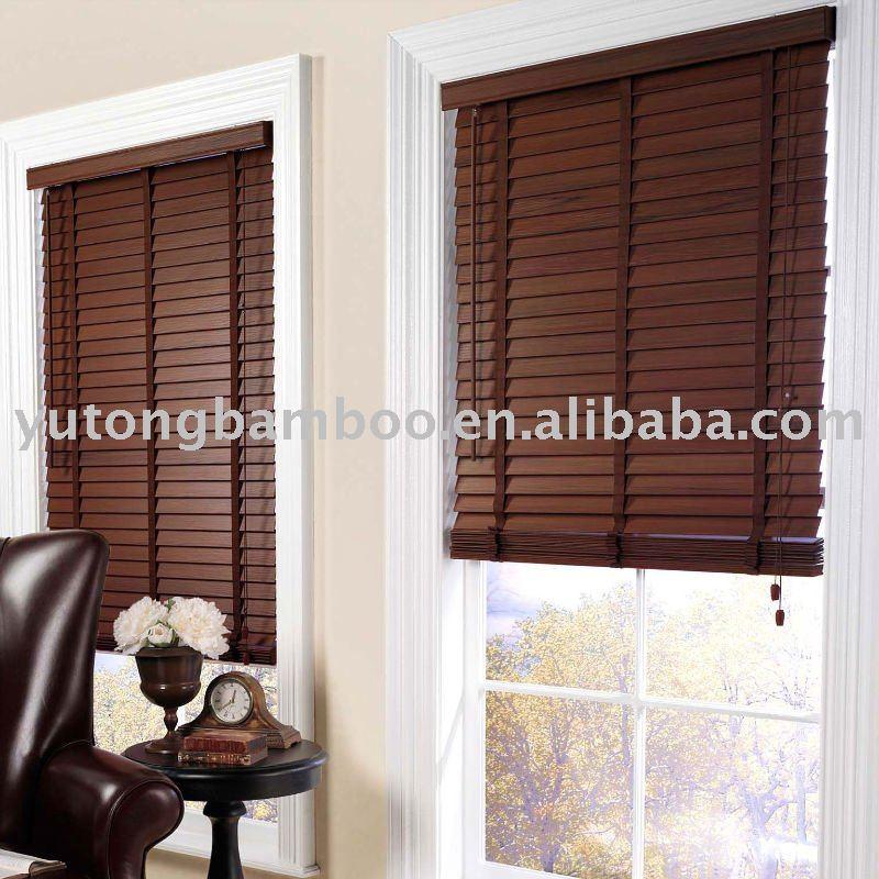 Printed Bamboo window blinds