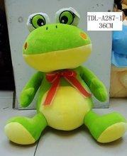 plush stuffed frog