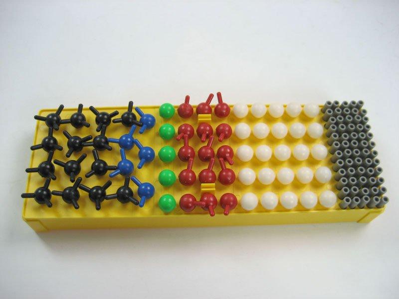 Modelo de enseñanza/no - sustancia orgánica de la estructura molecular de kit de construcción