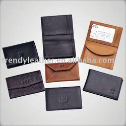 leather business cardholder