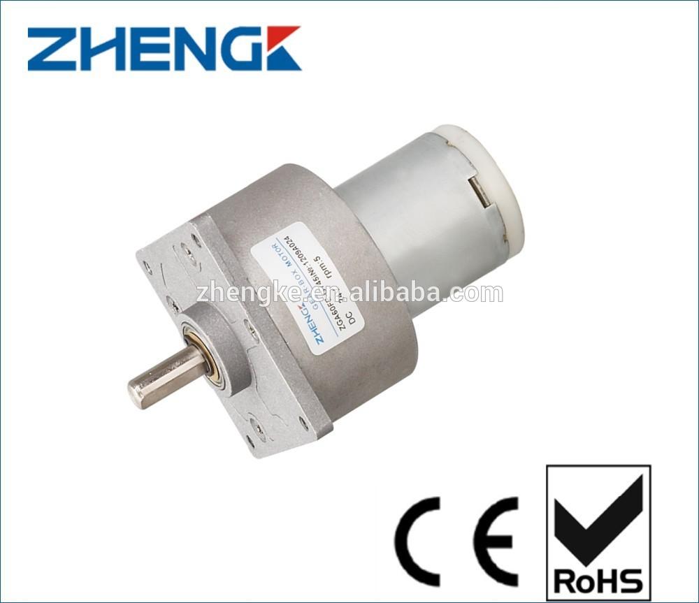 Gear Motor 1 Rpm View Gear Motor 1 Rpm Zhengk Product
