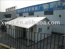 Light steel prefabricated house with low cost