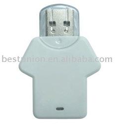 promotional dress USB flash drive/ thumb drive/ Pen drive