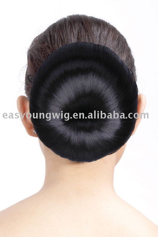 Wedding products Snap hair bun dome hair chignon