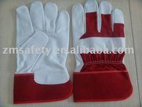 Goat grain leather work/rigger gloves