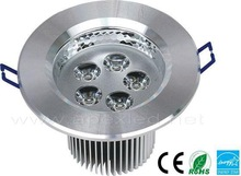 5x1w recessed LED down light with driver