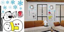 christmas wall sticker,