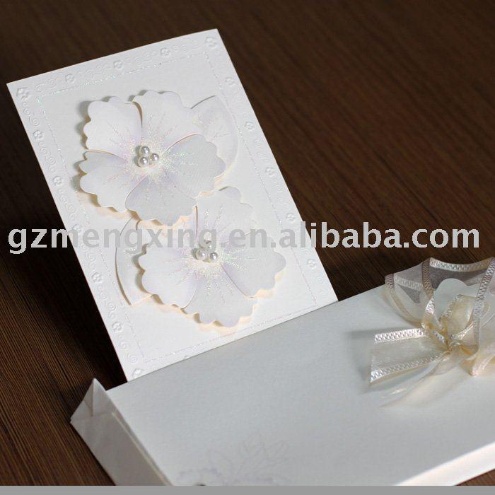 handmade wedding cards high quality afforadable price creative design