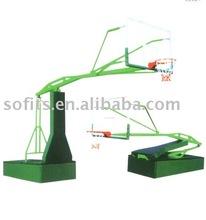 Basketball Adjustable Shelf Electrically Operated Hydraulic Pressure Hydra Rib Basketball System Glass Shelves