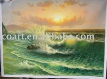 Sea oil painting