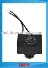 metallized polypropylene film AC running capacitor CBB61