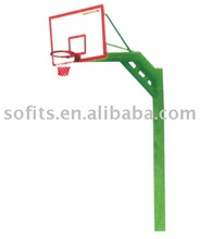 "Basketball Equipment In Ground Basketball Stand with 60"" Backboard Basketball Frame"