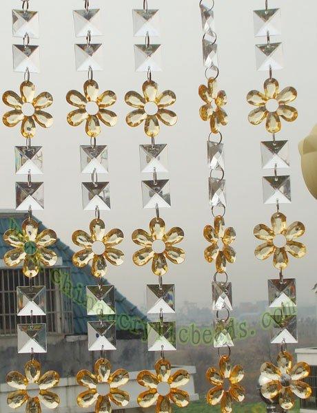 Hecho a mano de cristal cortinas de cuentas, con cuentas de cristal cortinas hechas a mano, hecho a mano de cristal cortinas de cuentas