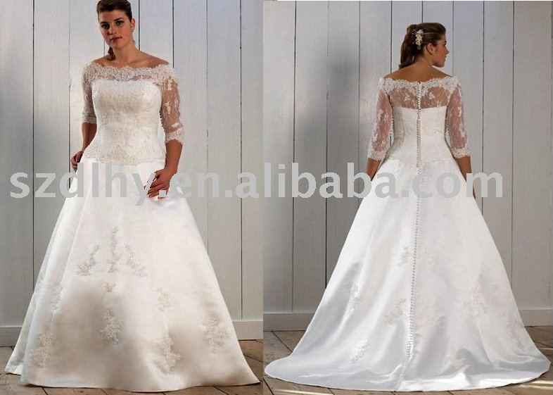 simple lace wedding dress with sleeves. lace sleeves wedding dress