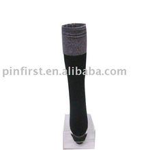 200Pairs New Black Velvet Knee-high Stockings