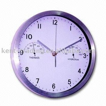 temperature and humidity display temperature wall clock wall clock