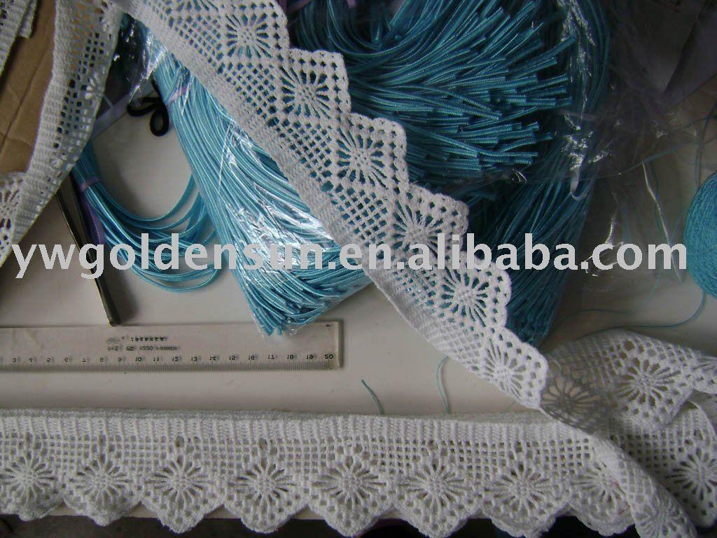 2013 Fashion Hand made Crochet Garment Lace ( 3306)