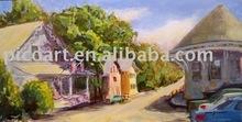 big size oil painting,landscape oil painting
