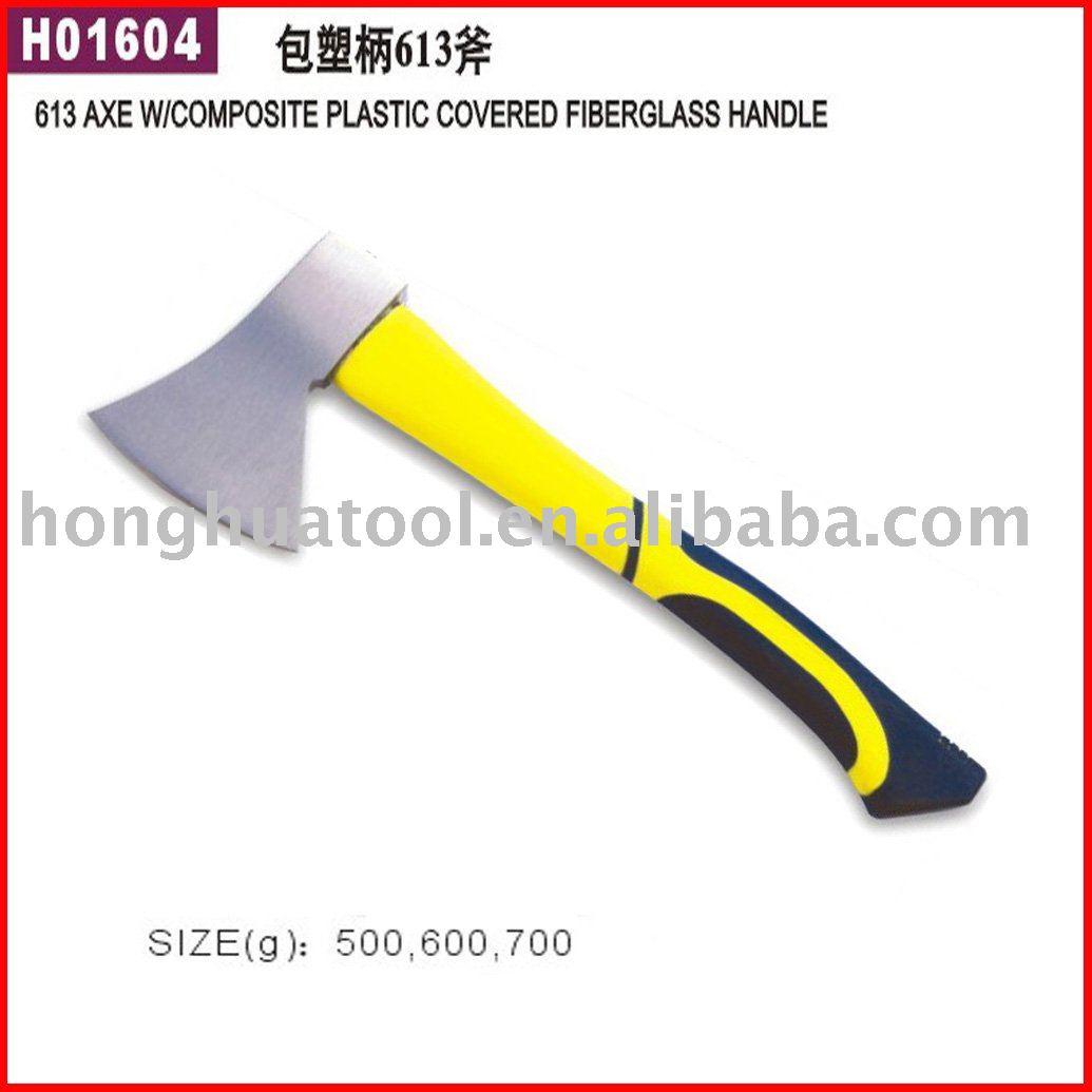 613 axe w/composite plastic