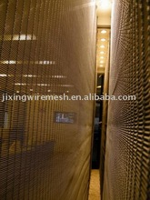 Decorative curtain mesh