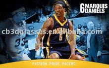 3d basketball advertising printing making