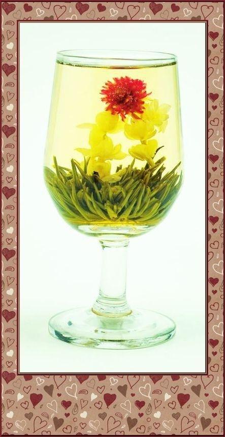 blooming tea Jasmine Basket