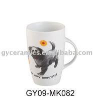 coffee mug with fine porcelain