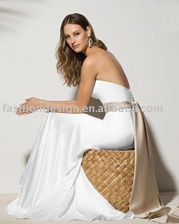 SWD532 Unique backless floor length wedding dresses