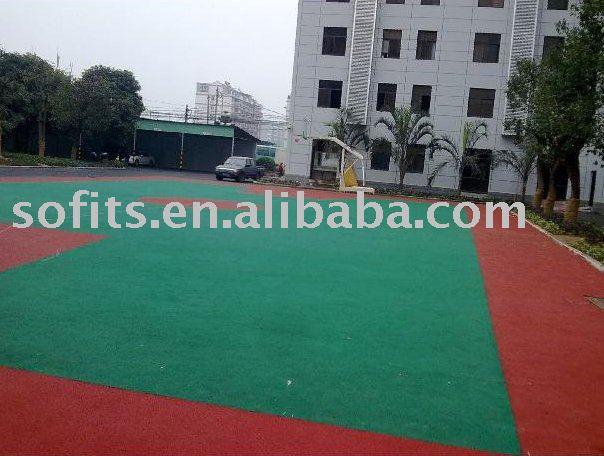 PVC Vinyl Floor Indoor Basketball Court Use,Outdoor Basketball Court Suspended Interlocking Sports Flooring