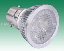 4*1w B22 LED Spot light (CREE/EDISON LEDs)