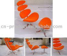 Corona chair and ottoman