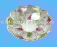 pretty crystal fruit dish