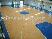Indoor Wooded Floor Basketball Halls,Indoor Basketball Court Sports Flooring System