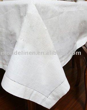 Manteles de lino con vainicas mano mantel identificaci n - Manteles de lino ...