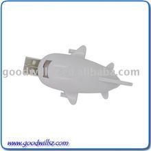 White Cartoon USB Flash Drive
