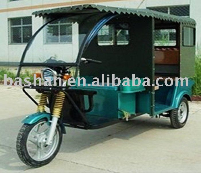 1000V 60V Electric Tricycle for passenger