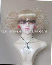 Fashion Female model wig