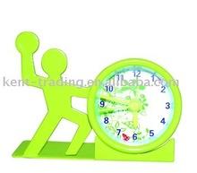 Mini Sport Serials Clock, basketball shape (RFC1080)