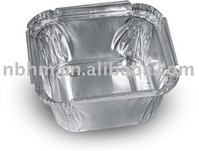 aluminum foil container small square 95ml bakery