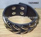 bangles,leather bangles,leather bracelet