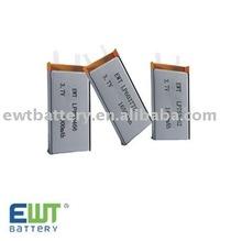 850mah 3.7V Li-Po VCD Battery
