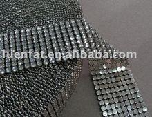 mesh strip rhinestone mesh strip , acrylic strip
